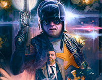 Space Cop movie poster - Red Letter Media