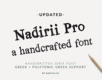 Nadirii Font