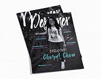 Magazine Design (Cover & Spread)