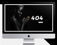 Basic 404 Page Design