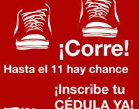 Piezas para candidata del Choco Colombia