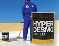 Hyperdesmo lebanon - waterproofing system - billboard