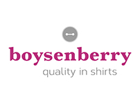 logo design Boysenberry