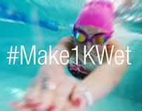 Speedo - #Make1KWet challenge 2017