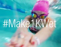 Speedo - #Make1KWet challenge 2017