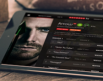 Ooredoo TV App Design