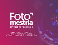 Identidade Visual - Fotomestria Estúdio Fotográfico
