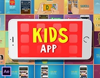 Kids App 1.0 | After Effects template
