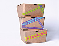 Burgerhood Packaging Design