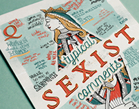 Typical Sexist Comments Poster