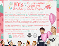 BTS x RM x JK Birthday Project Poster