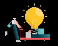 StorageMart: Brand Illustrations