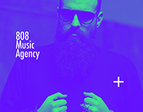 808 Music Agency - Branding Design