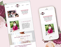 Brand & Website Design for The Dainty Doula