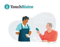 TouchBistro Brand Illustration
