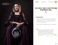Website Ecole de couture Fribourg