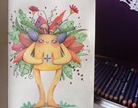 Lápis de cor - Sketches