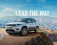 Jeep Compass India Launch Campaign - CGI + Retouch
