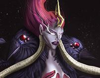 Vainglory 'Raven Queen Varya' [fanart]