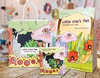 Little Crow's Feet Packaging & Brand
