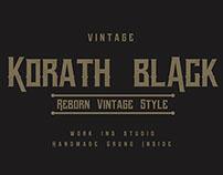Vintage Korath Black