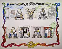 Letras Y Figuras | AYA ABAD