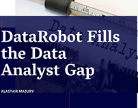 Alastair Majury | DataRobot Fills the Data Analyst Gap