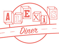 Alexis Diner Rebrand