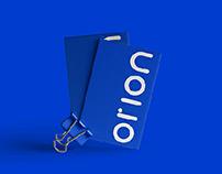 Logo design. Orion - web development company