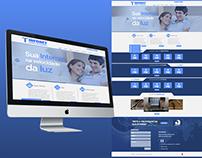 Redesign Site INFONET INFORMÁTICA E TELECOMUNICAÇÕES