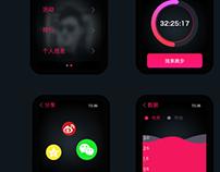 Running App running on watch apple