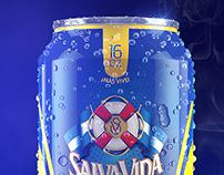 Beer packaging design + CGI