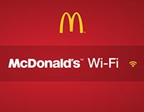 McDonald's™ Wi-Fi Gratis Print Ad Campaign Vol.2