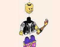 LEGO print campaign