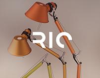 RIO Lámpastúdió Branding