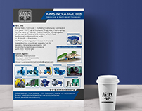 Industrial AD Design for AIMS INDIA