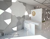 Dubai Air-Show section interior design
