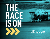 The Race Is On - Engagio @ Dreamforce 2019