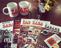 Zabar's 80th Anniversary Catalog Designs