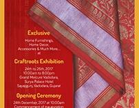 Craftroots Baroda Exhibition - E Invite