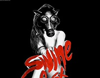 Lady Gaga Swinefest (2013) Posters