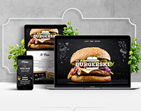 Mr.Burgerski Identity & Website