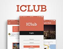 ICLUB App Design