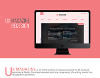 UX MAGAZINE Redesign
