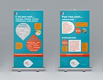 Exposition itinérante Exhibition-banners