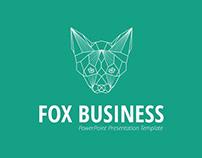 Fox Business PowerPoint Presentation Template