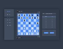 Arena   Online Chess Platform Concept