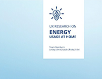 UX Research Project on Domestic Energy Consumption