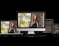 Responsiver OnePager  Florence Kasumba, Schauspielerin