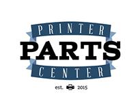 Printer Parts Center logo design